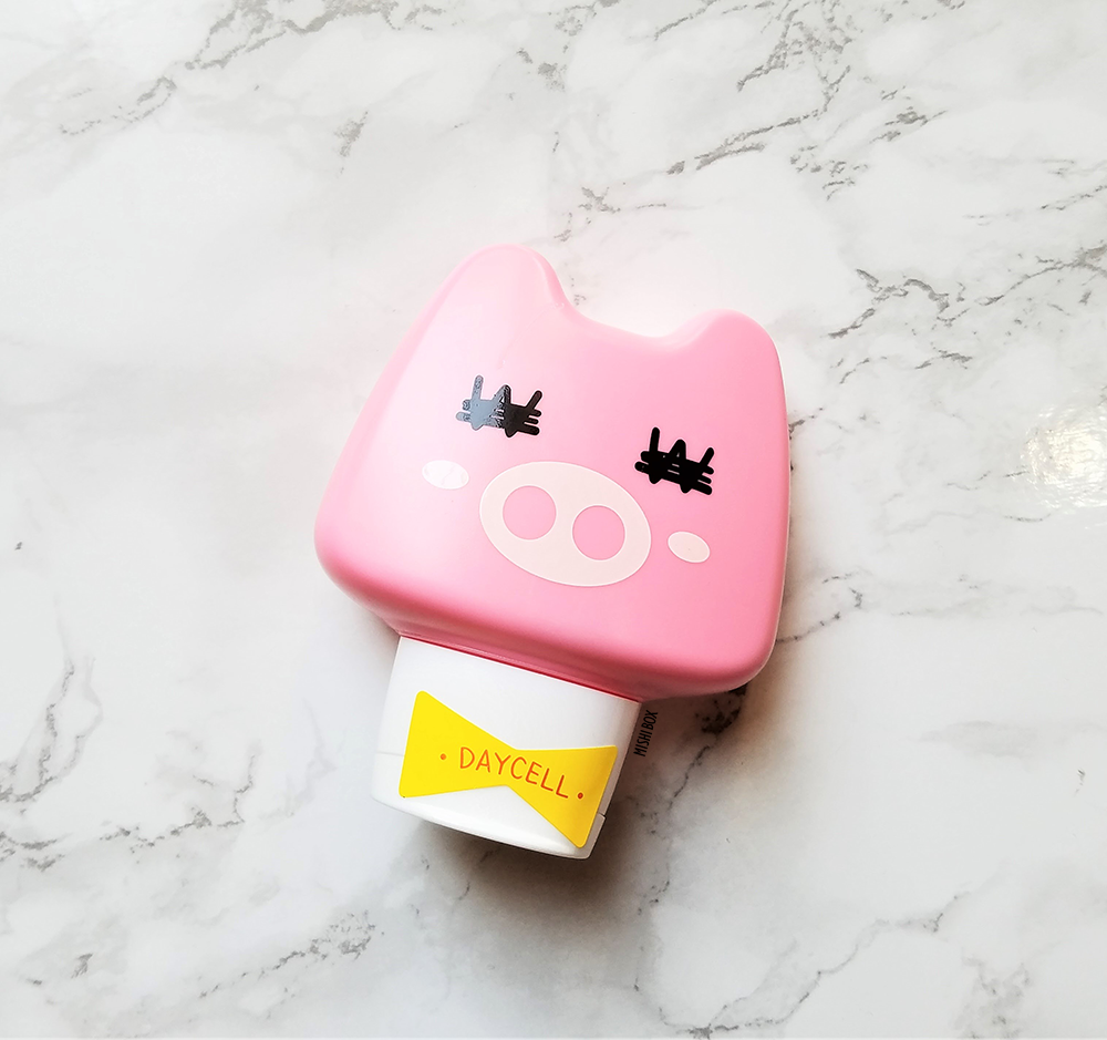 DAYCELL Animal Hand Cream - DonDon Pig (Budapest Rose)