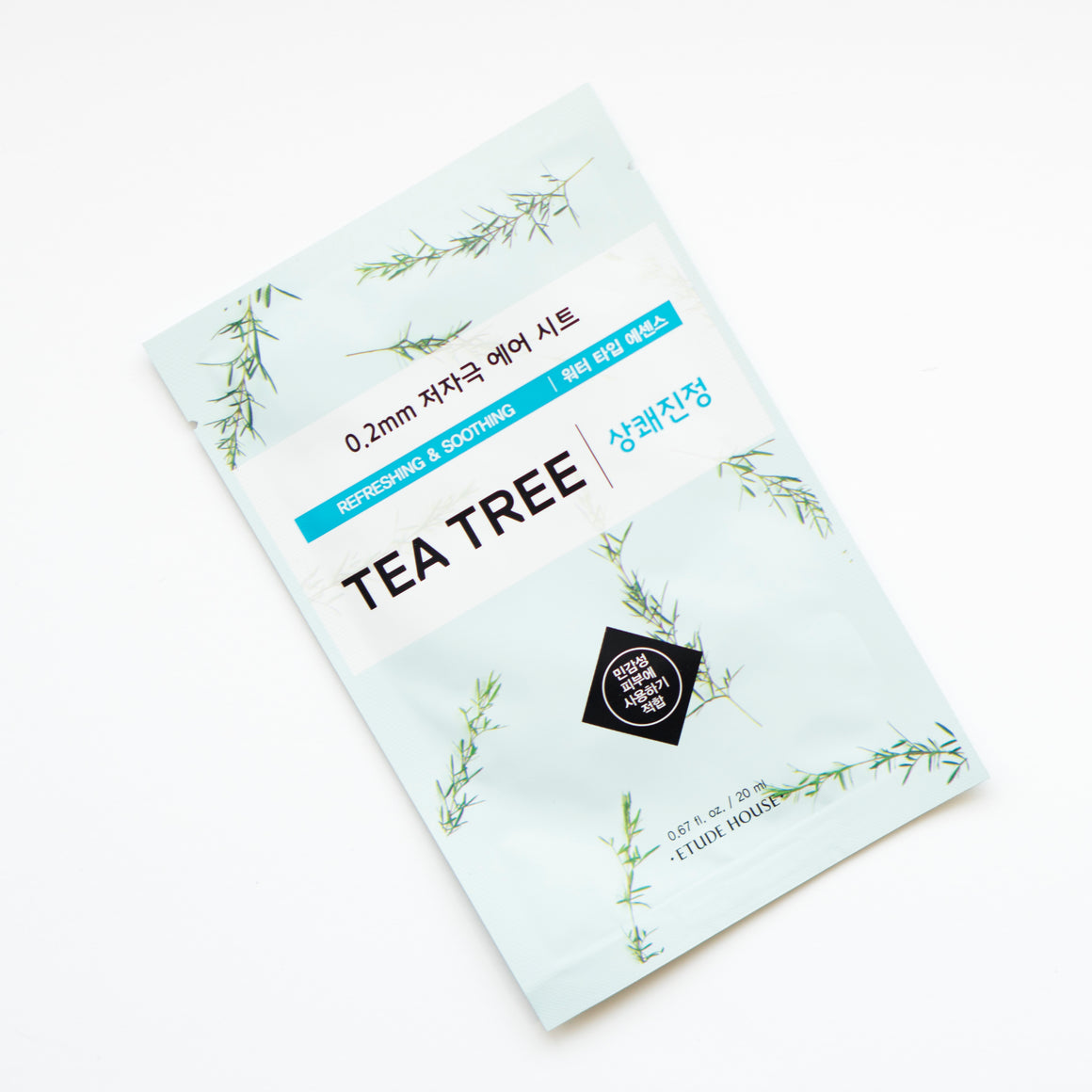 ETUDE HOUSE 0.2 Therapy Air Mask - Tea Tree