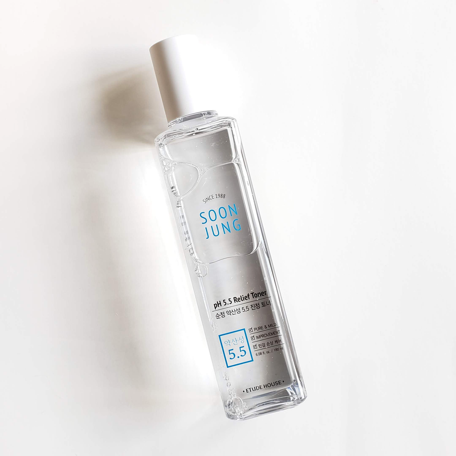 ETUDE HOUSE SoonJung pH 5.5 Relief Toner [EXP 05.18.2021]