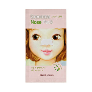 ETUDE HOUSE Green Tea Nose Pack - MISHIBOX