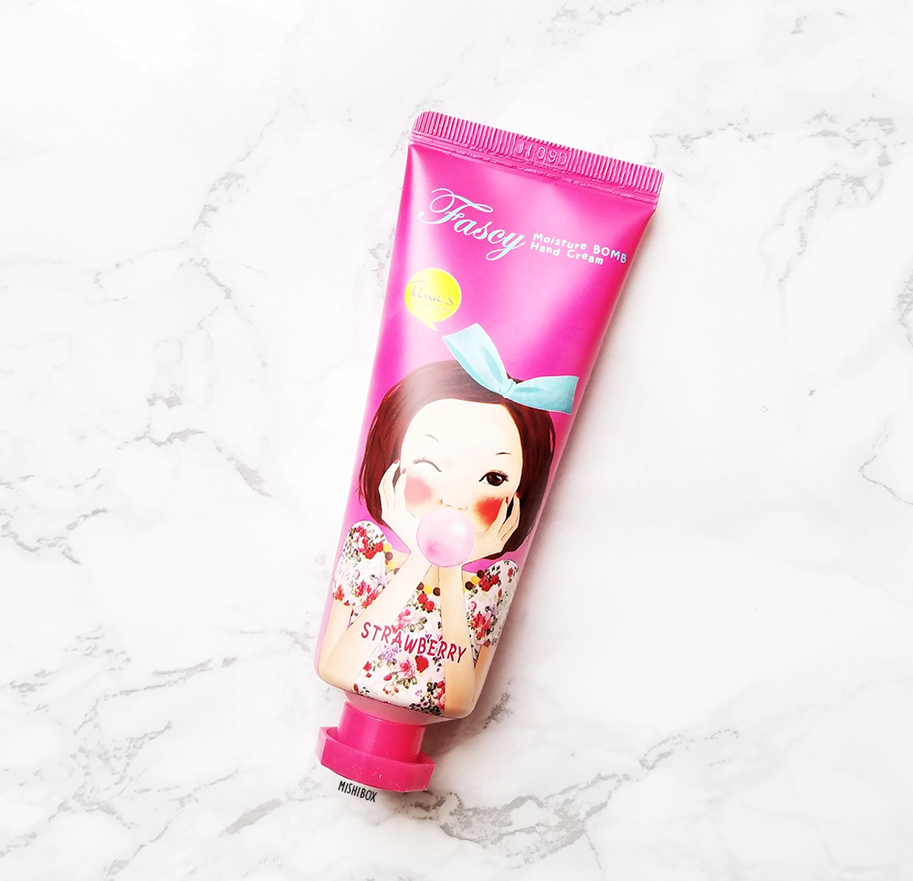 Fascy Moisture Bomb Hand Cream - Strawberry