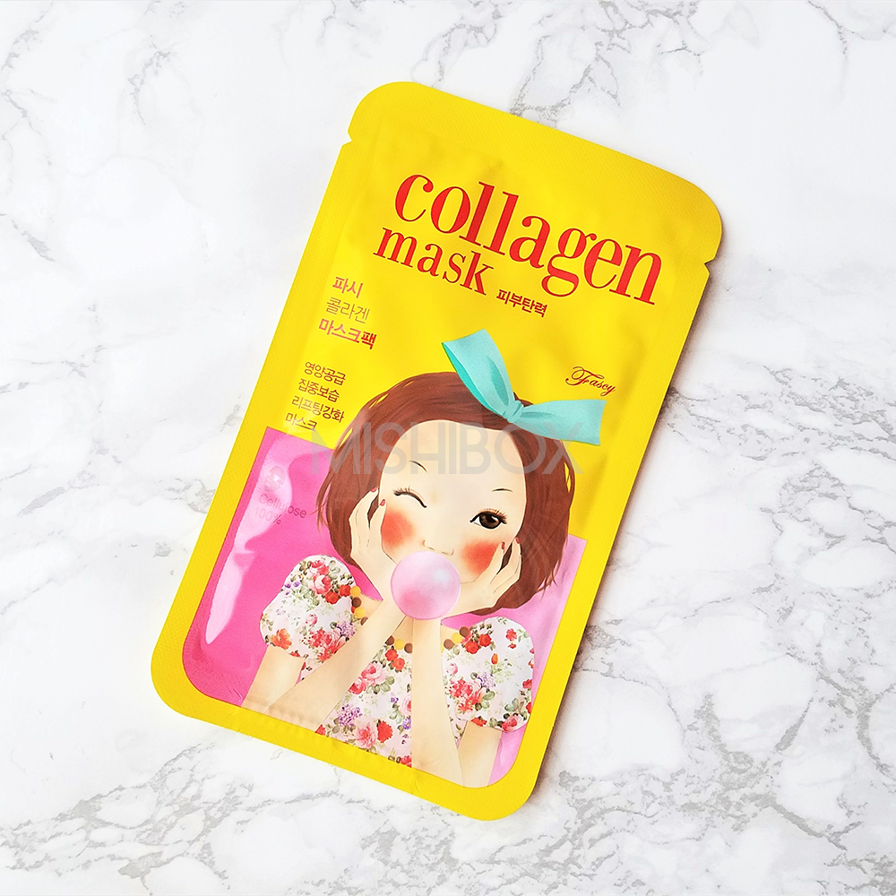 Fascy Tina Mask - Collagen (Pungseon Bubble Tina)