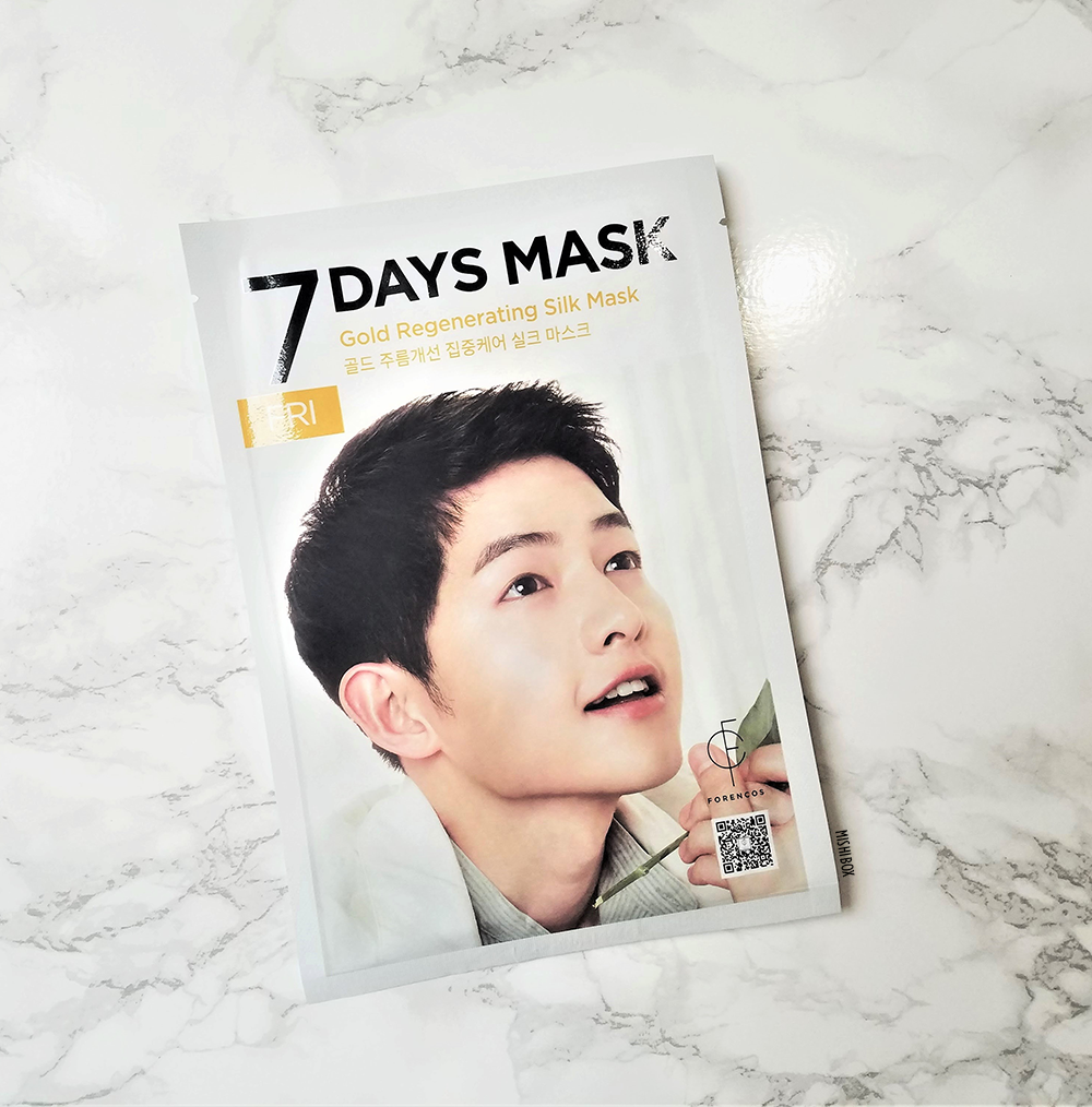 FORENCOS 7 Days Mask - Friday (Gold)