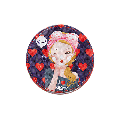 Fascy Tina Tiny Pocket Mirror - Bubble Tina