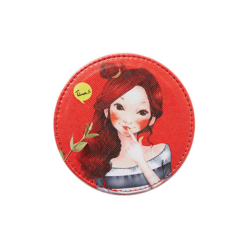 Fascy Tina Tiny Pocket Mirror - Wave Tina