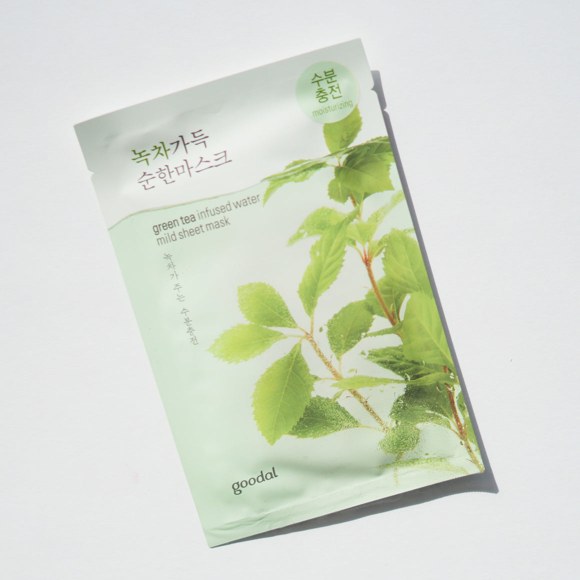 Goodal Green Tea Infused Water Mild Sheet Mask