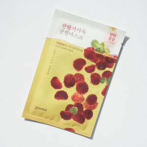 Goodal Raspberry Infused Honey Mild Sheet Mask