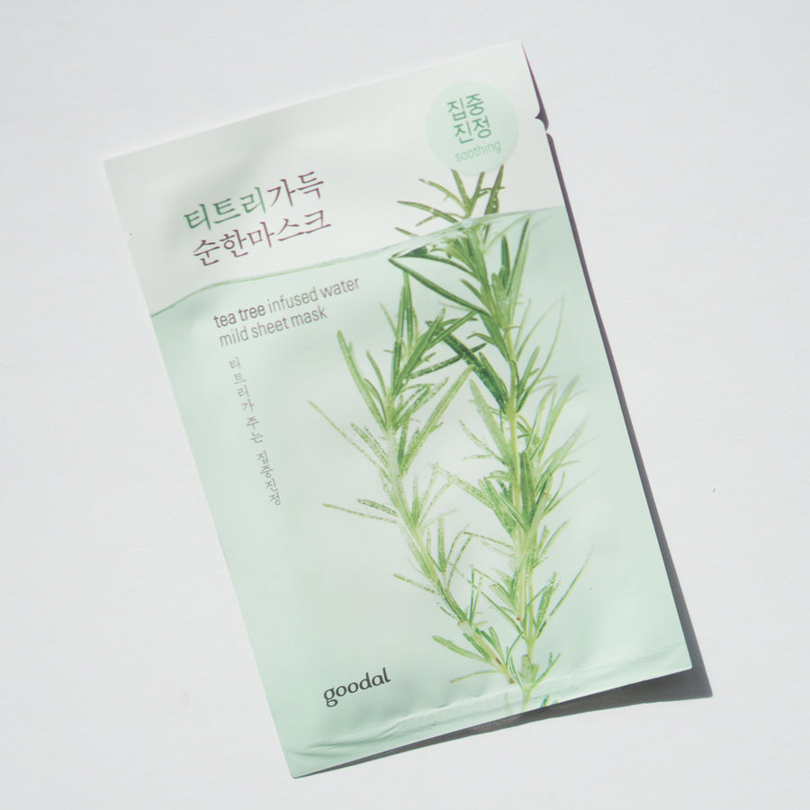 Goodal Tea Tree Infused Water Mild Sheet Mask