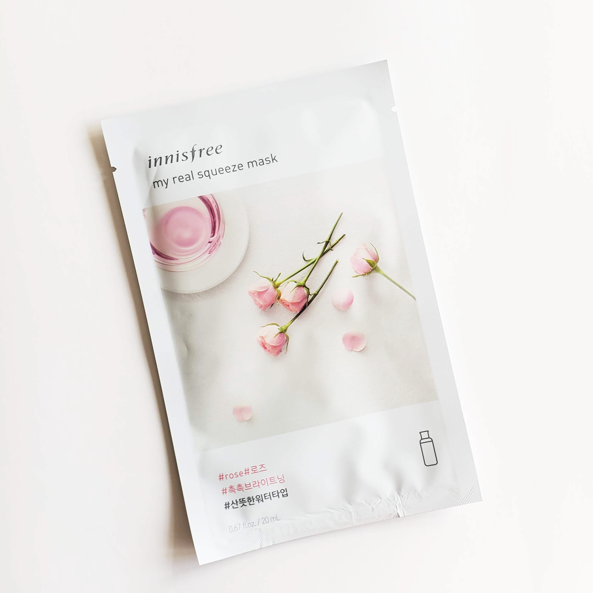 Innisfree My Real Squeeze Mask Rose