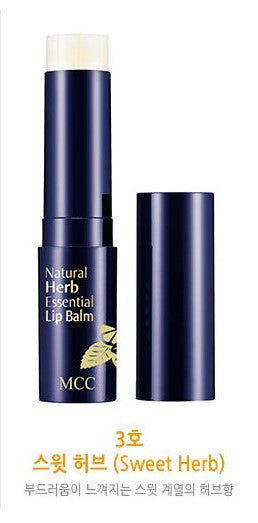 MCC Natural Herb Essential Lip Balm - Sweet Herb