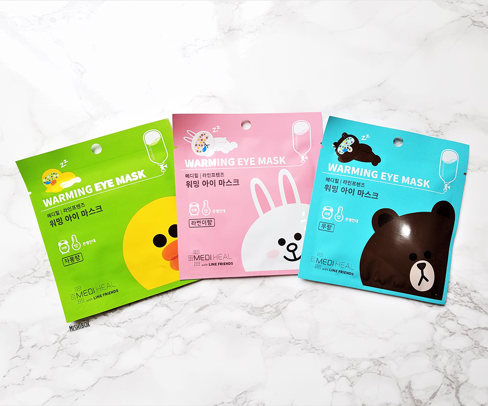 MEDIHEAL x Line Friends Warming Eye Masks