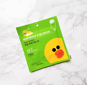 MEDIHEAL x Line Friends Warming Eye Masks - Sally