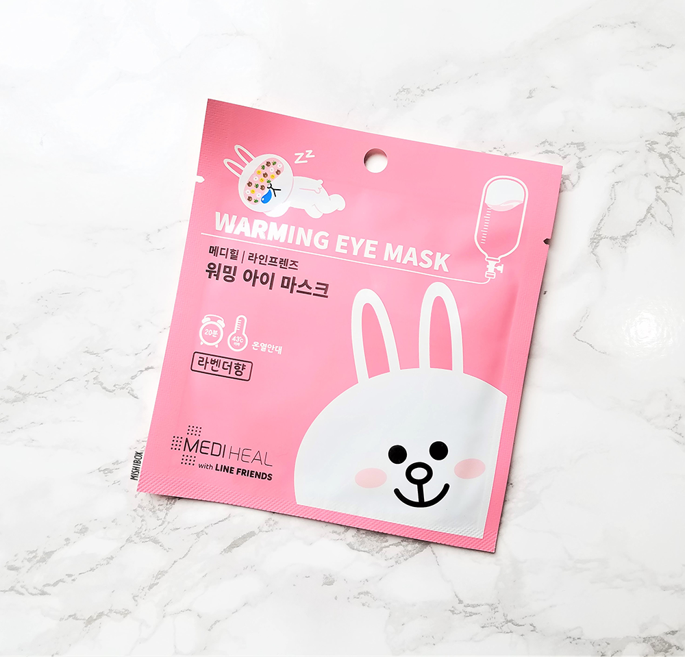 MEDIHEAL x Line Friends Warming Eye Masks - Cony