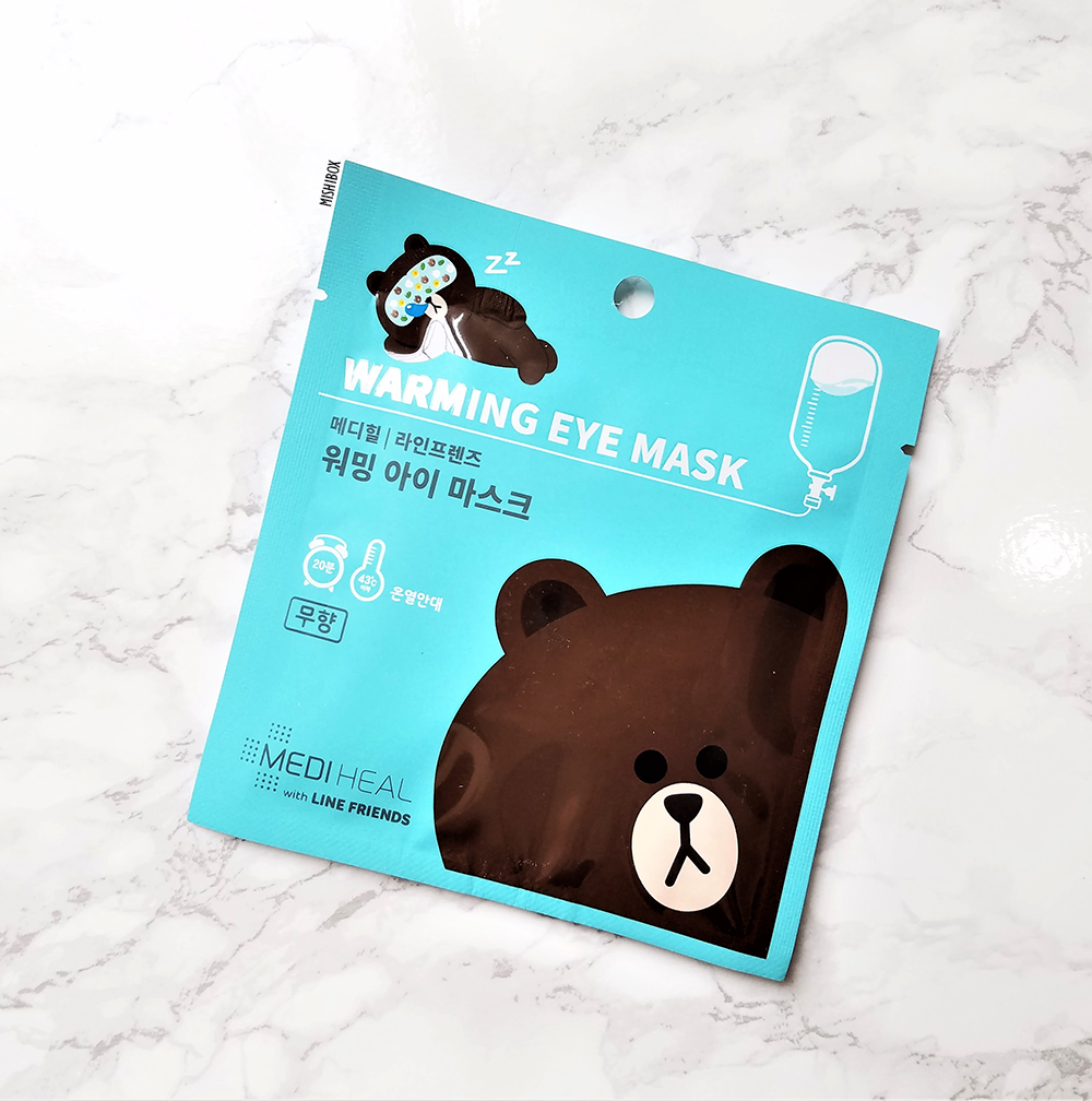 MEDIHEAL x Line Friends Warming Eye Masks - Brown