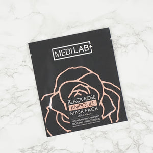 MEDILAB Black Rose Ampoule Mask Pack