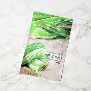 Nature Republic Real Nature Mask Sheet [EXP 10.31.2018] - Aloe