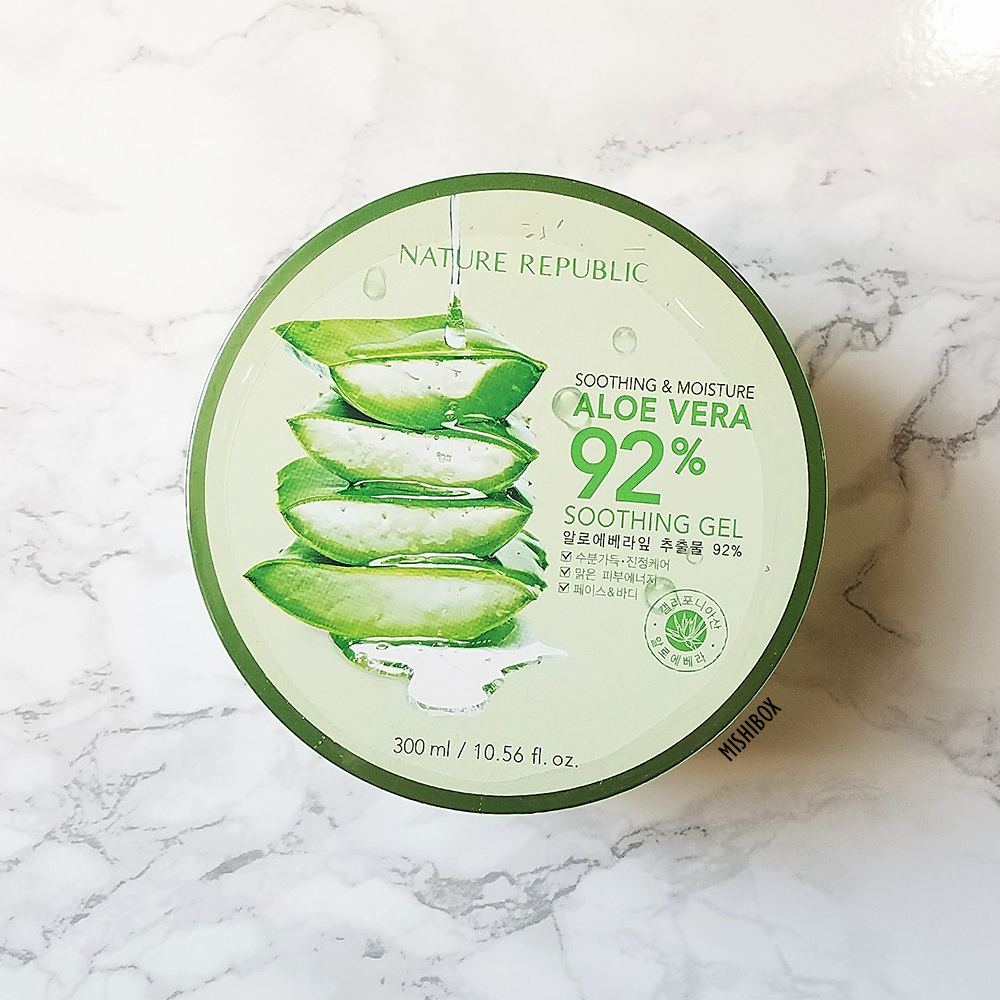 Nature Republic Aloe Vera 92 Soothing Gel Mishibox