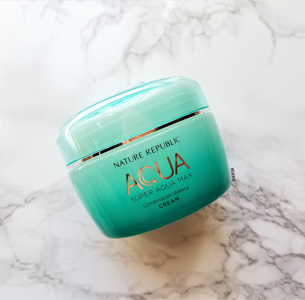 Nature Republic Super Aqua Max Combination Watery Cream (Combination Skin) [EXP 03.30.2019]