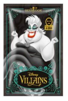 SEXYLOOK Disney Villains URSULA - Moisturizing Black Mask