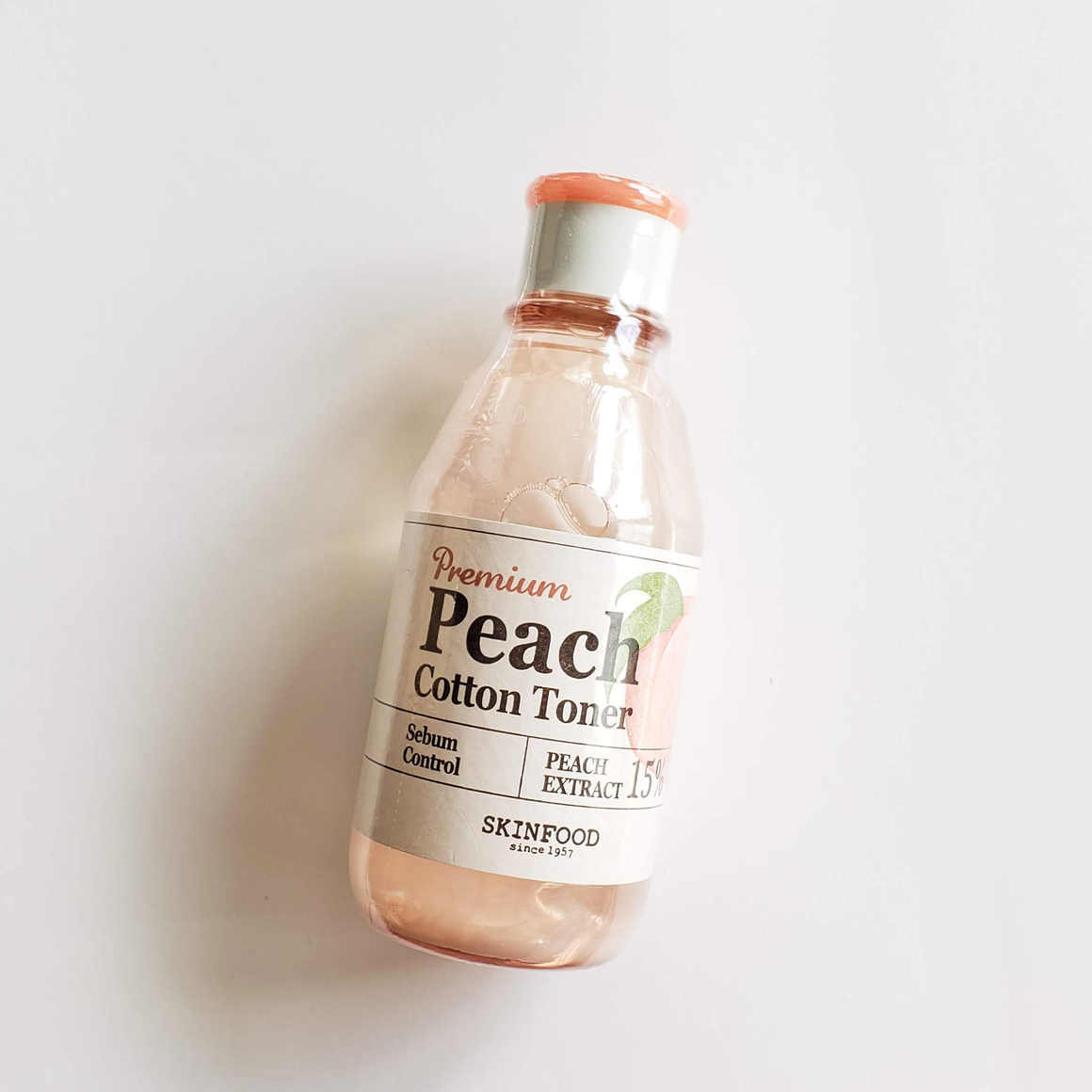 SKINFOOD Premium Peach Cotton Toner
