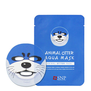 SNP Animal Mask - Otter (Aqua)