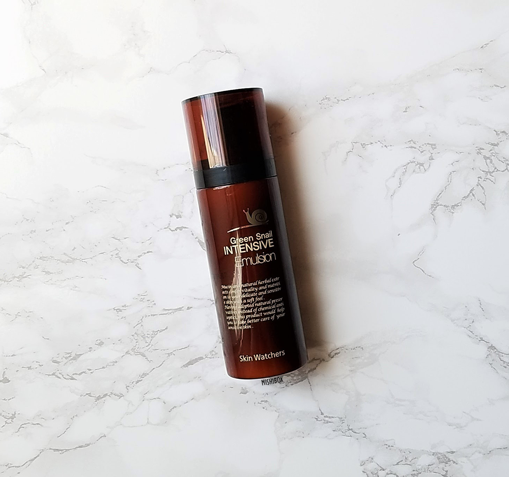 Skin Watchers Green Snail Intensive Emulsion [Exp 07.21 2019]