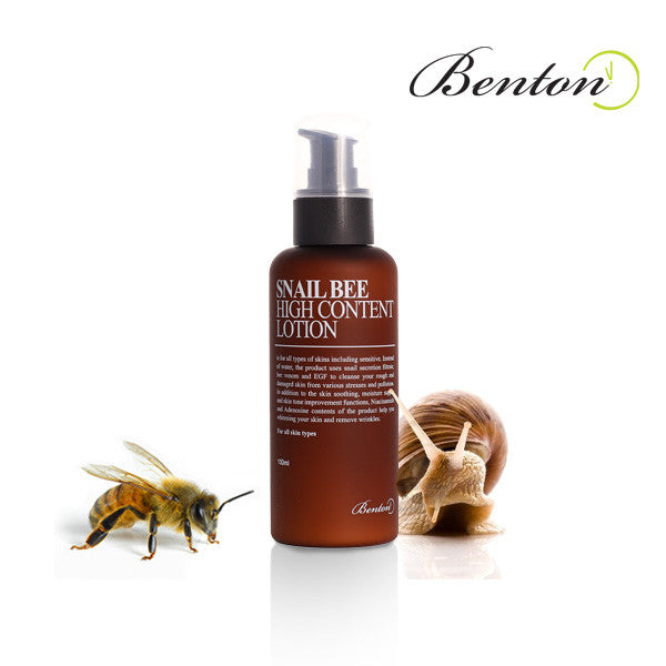 Benton Snail Bee High Content Lotion (EXP 07-30-2017) - MISHIBOX  - 1