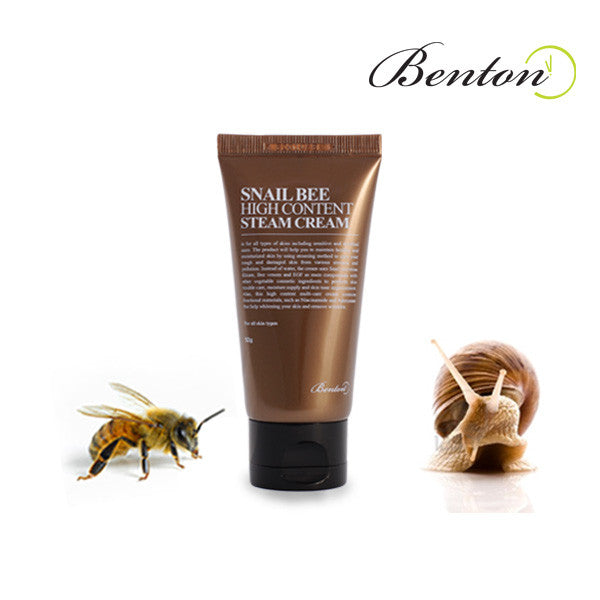 Benton Snail Bee High Content Steam Cream (EXP 07-13-2017) - MISHIBOX  - 1