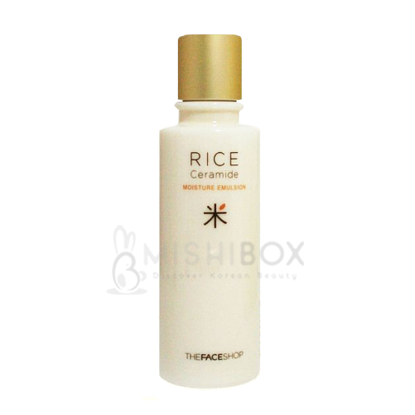 THE FACE SHOP Rice & Ceramide Moisture Emulsion - MISHIBOX