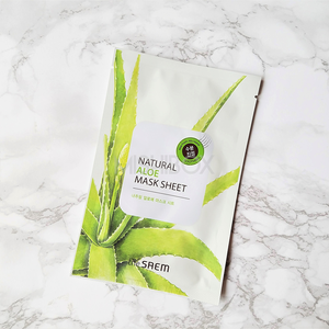 the SAEM Natural Mask Sheet - Aloe [EXP 10.02.2019]