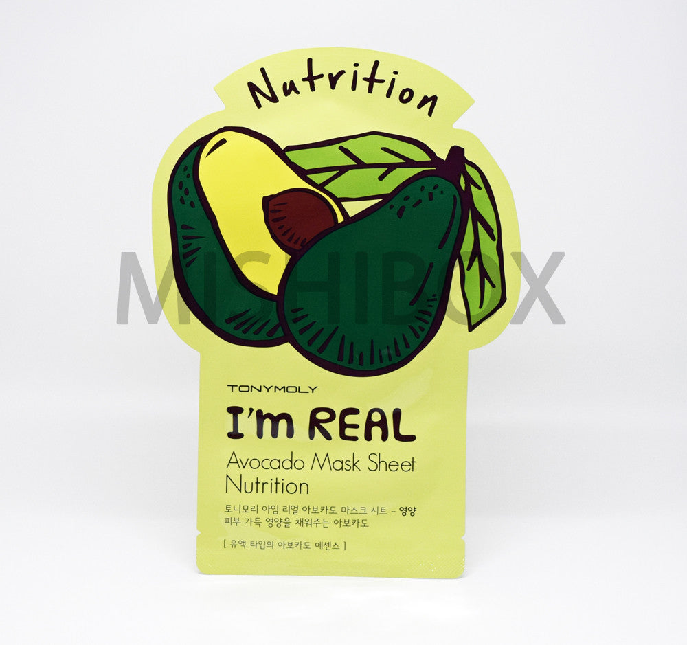 TONYMOLY I'm Real Mask Sheet - MISHIBOX  - 8