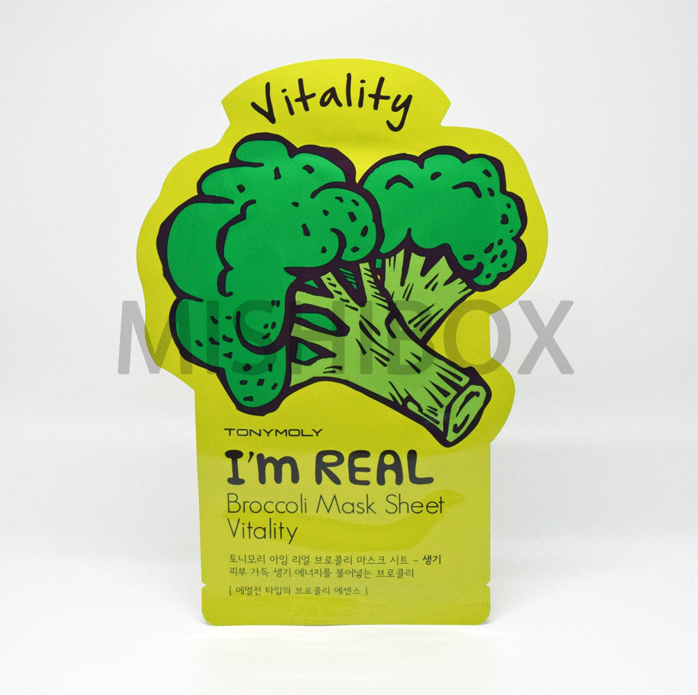 TONYMOLY I'm Real Mask Sheet - MISHIBOX  - 12
