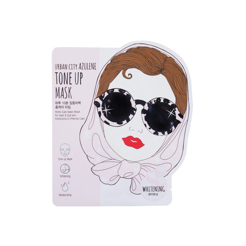 Urban Dollkiss Urban City Azulene Mask - Tone-Up
