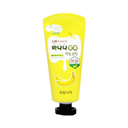 Kwailnara Banana Milk Hand Cream - MISHIBOX