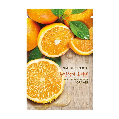 Nature Republic Real Nature Mask Sheet - Orange