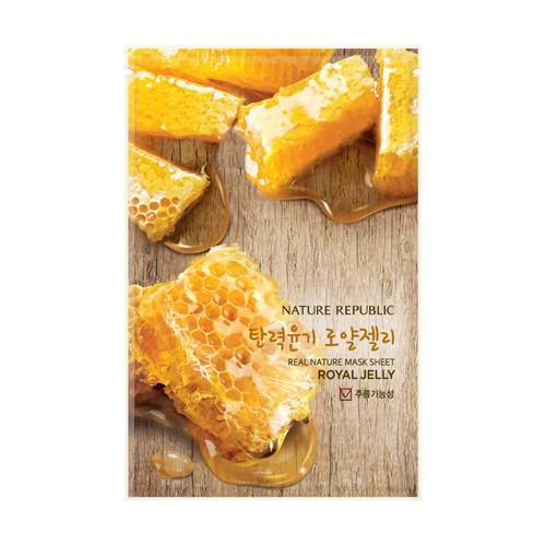 Nature Republic Real Nature Mask Sheet - Royal Jelly