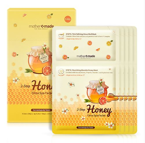 mother+made 2-Step Honey Citrus Spa Facial