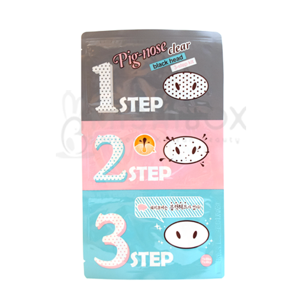 Holika Holika Pig Nose Clear Black Head 3-Step Kit (EXP 3-2017) - MISHIBOX