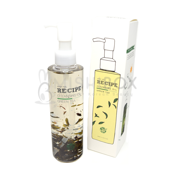 RE:CIPE Green Tea Cleansing Oil - MISHIBOX