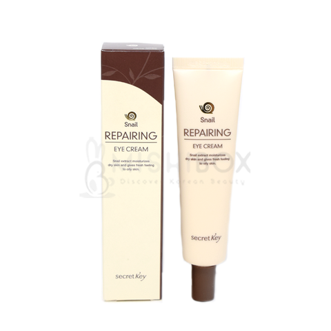 Secret Key Snail Repairing Eye Cream - MISHIBOX