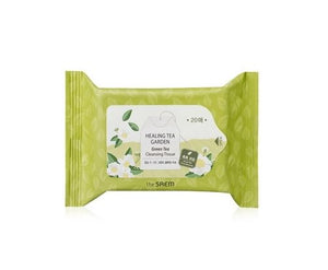 the SAEM Healing Tea Garden Green Tea Cleansing Tissue (20 sheets) [EXP 5.17.2019]