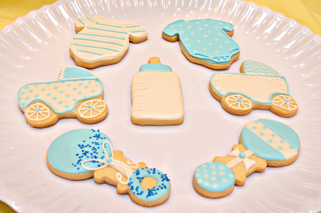Baby  Shower Favors - Shortbread Cookies - Crumbolicious - 1