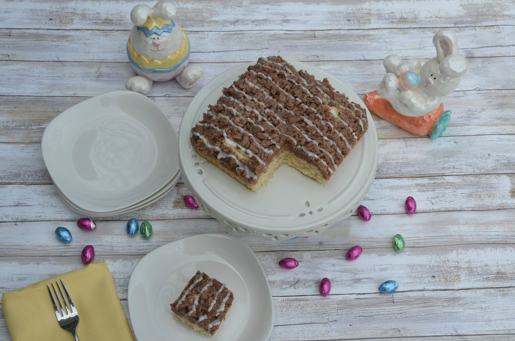 Easter Lemon Crumb Cake