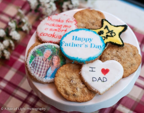 Father's Day Cookie Gift Box