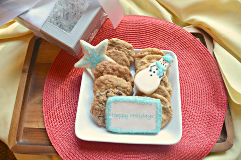 Happy Holidays Cookie Assortment Gift