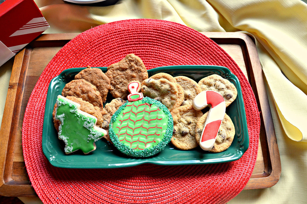 Merry Christmas Cookie Assortment Gift - Crumbolicious