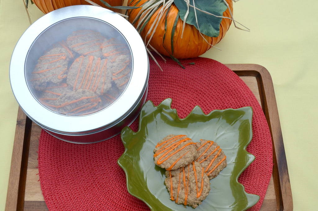 Pumpkin Spice Oatmeal Cookies - Crumbolicious