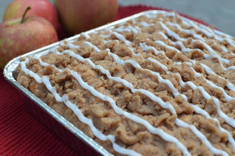 Apple Crumbs Cake
