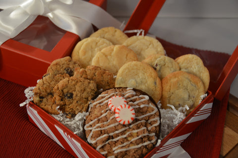 Peppermint Crumb & Cookie Assortment Gift