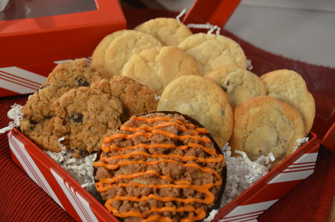Pumpkin Spice Crumb & Cookie Assortment Gift